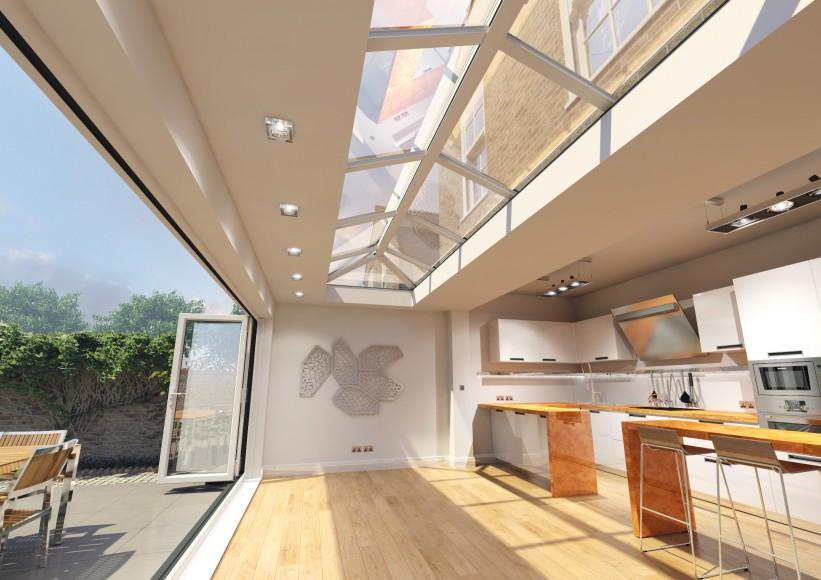 flat-roof-skylight
