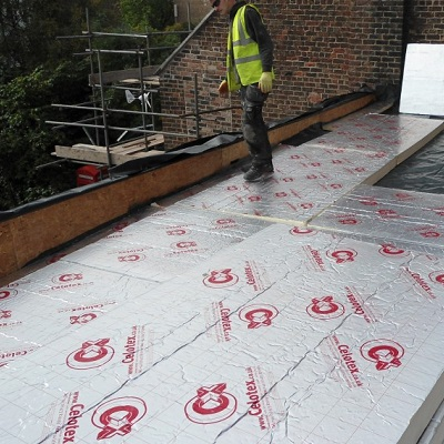 Warm flat roof construction: Explained - R&D Roofing