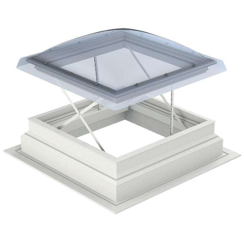 fixed flat roof dome 2